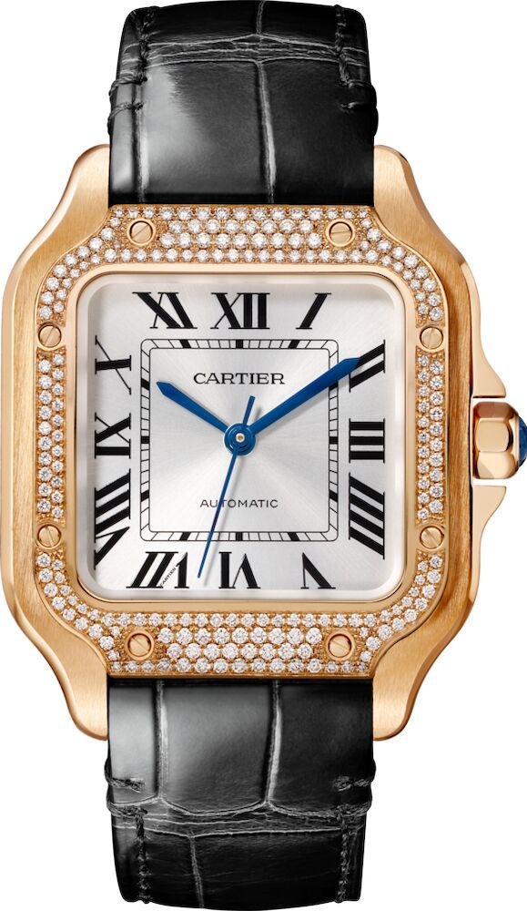A picture of a cartier watch elaborating on how to tell if a cartier watch is real?