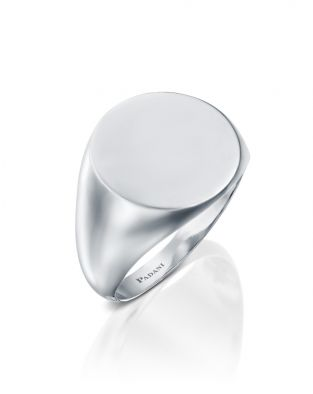 Signet Round Ring