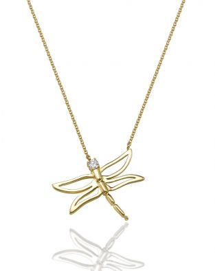 Dragonfly Medium Necklace