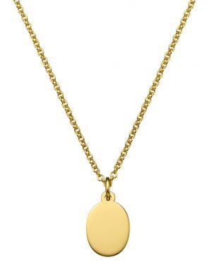 Oval-shaped Mini Pendant