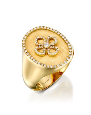 Signet Violetto Ring