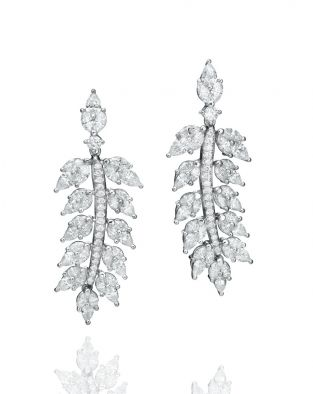Malvene Leaf Earrings