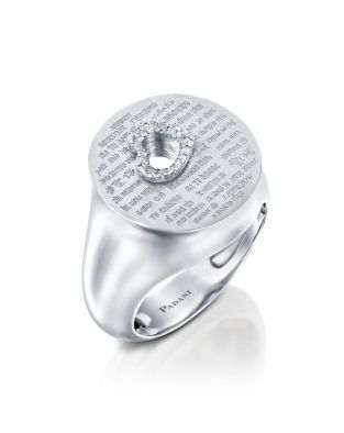 Love Diamonds Heart Ring