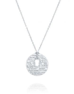 Hamsa Diamonds Necklace