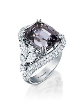 Malvene Violet Spinel Ring
