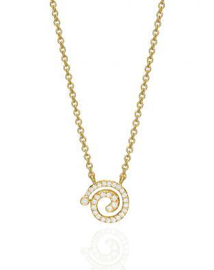 Nautilus Small Diamonds Necklace