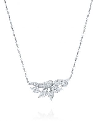 Malvene Double Leaf Necklace