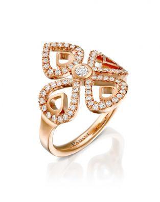 Double Violetto Contour Ring