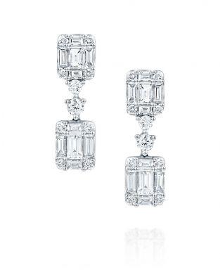 Jovane Cut Diamond Earrings