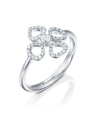 Mini Violetto Contour Ring