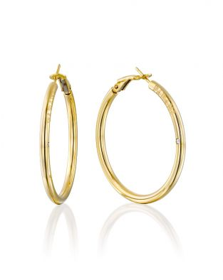 Hoop Earrings 35 mm