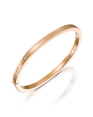 Gold Bangle 4 mm