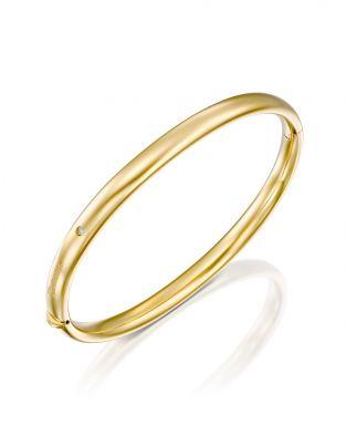 Gold Bangle 5.5 mm