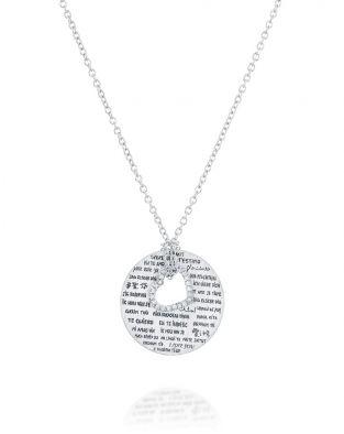 Love Necklace Diamonds Heart