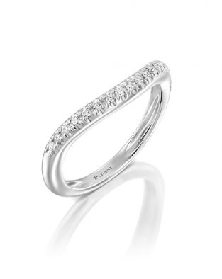 Half Eternity Wave Ring
