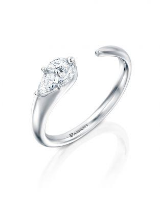 Malvene Single Leaf Ring