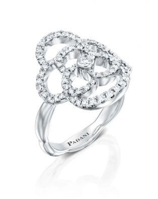 Clouds Diamond Ring