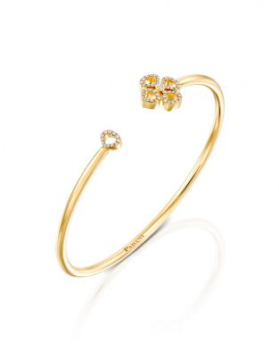 Violetto Contour Open Bracelet