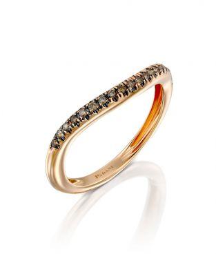 Half Eternity Wave Ring