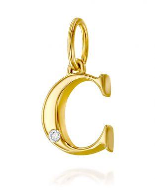 Letter C Mini Pendant