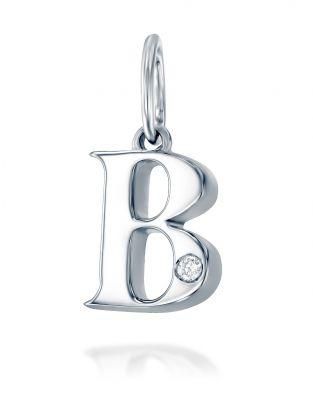 Letter B Mini Pendant