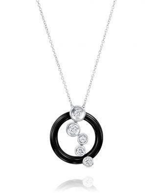 Ceramic Diamonds Necklace