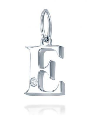 Letter E Mini Pendant