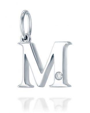 Letter M Mini Pendant