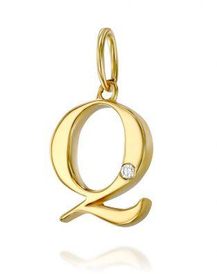 Letter Q Mini Pendant