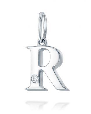 Letter R Mini Pendant