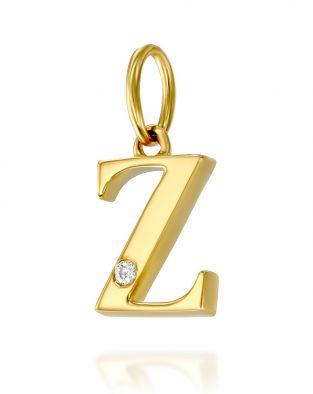 Letter Z Mini Pendant