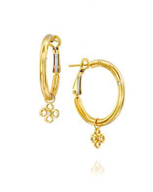 Violetto Hoop Earrings 20 mm