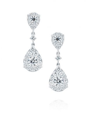 Jovane Two Drops Earrings