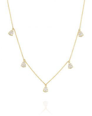 Jovane Multi Drop Small Necklace