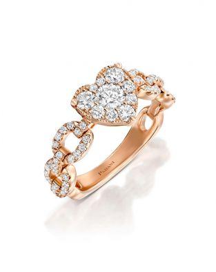Jovane Links Heart Ring
