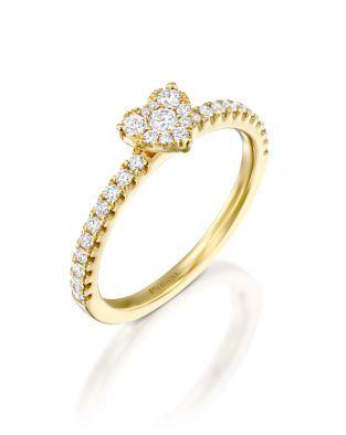 Jovane Small Heart Ring