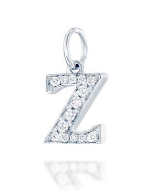 Letter Z Diamond Pendant