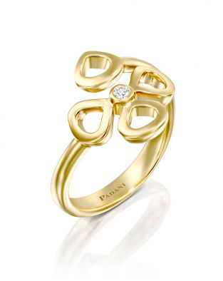 Violetto Contour Open Ring