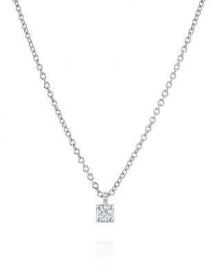 Diamond Necklace - 0.09