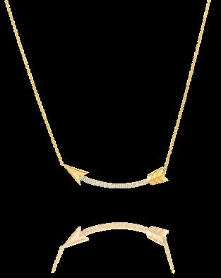 Flow Diamonds Necklace