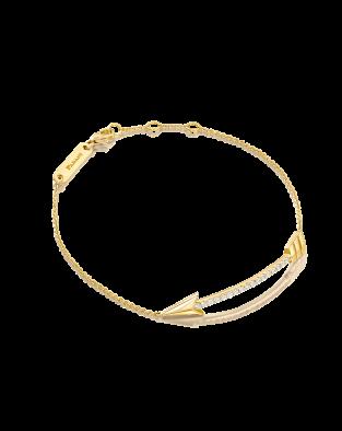 Flow Arrow Diamonds Bracelet