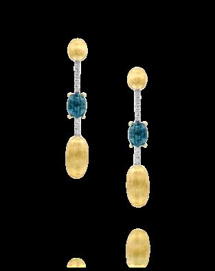 Nanis Blue Topaz Earrings