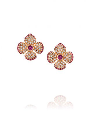Violetto Shine Color Earrings