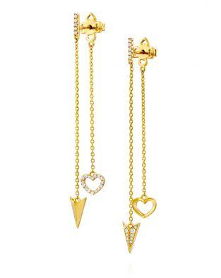 Arrows And Hearts Earrings