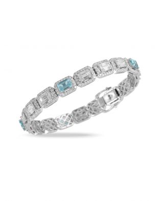 Doves Aquamarine Bracelet