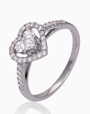 Lady Heart Diamonds Ring
