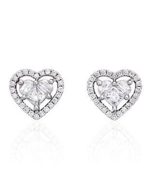 Lady Heart Diamonds Earrings