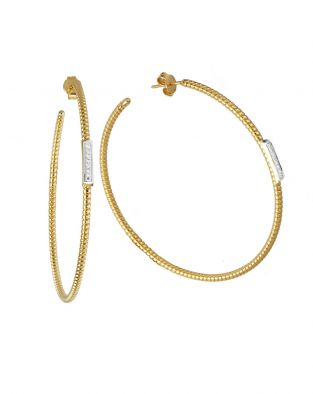 K di Kuore Hoop Earrings