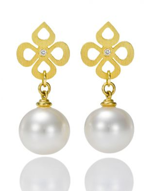 Miss Violetto Pearl Earrings
