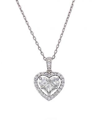 Lady Heart Diamonds Necklace